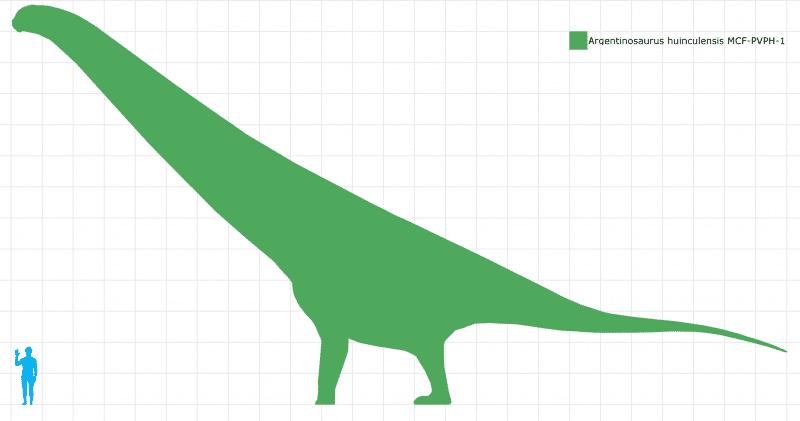 Argentinosaurus Dinosaurio más grande