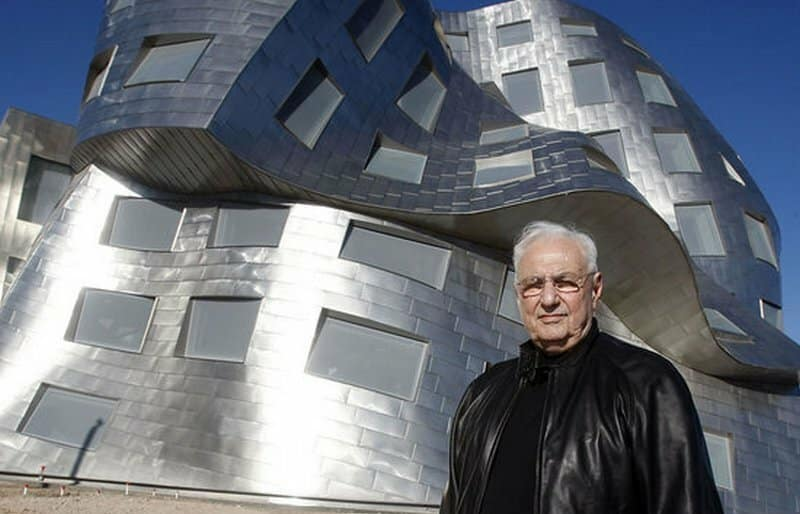 Frank Gehry foto arquitecto famoso