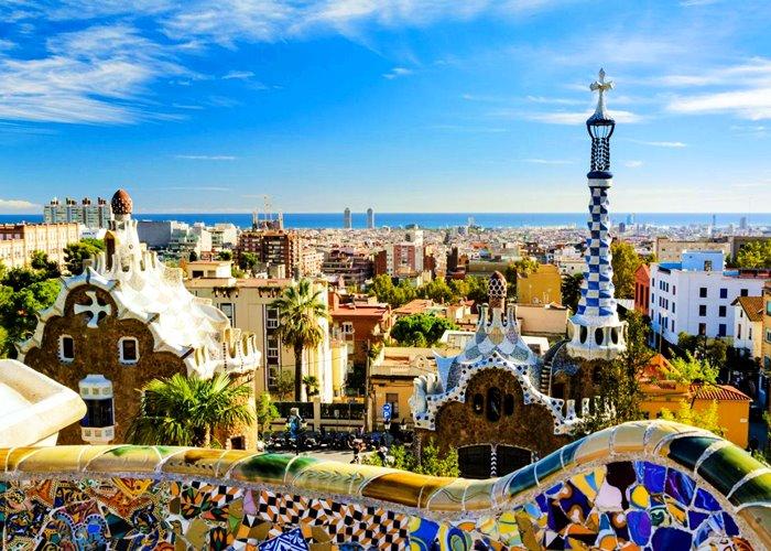 Barcelona Gaudí arquitectos famosos