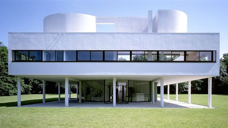 Le Corbusier edificio moderno