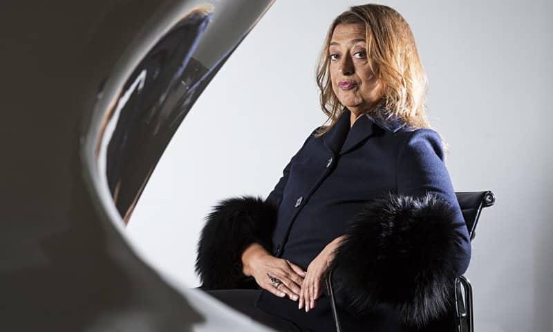 Zaha Hadid arquitecta famosa