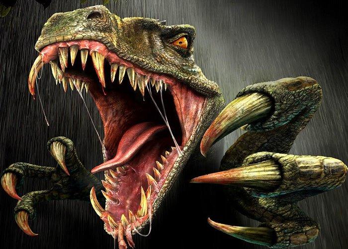 Dinosaurio peligroso