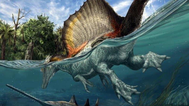 Spinosaurus - dinosaurio más peligroso