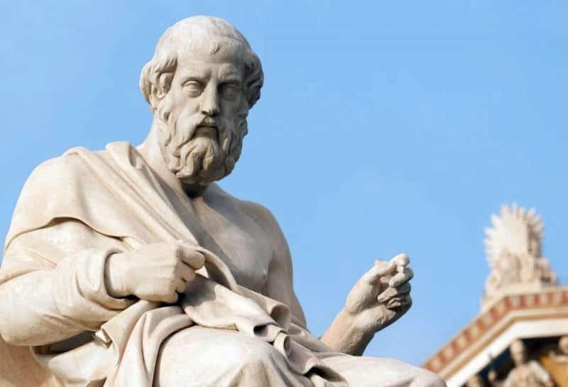 Platón filósofo famoso