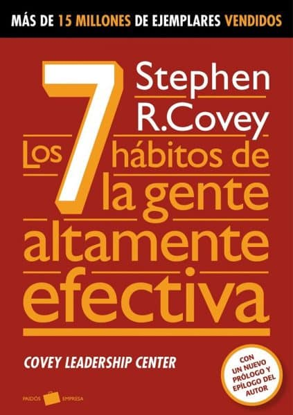 Mejor libro de autoayuda - los 7 hábitos de la gente altamente efectiva