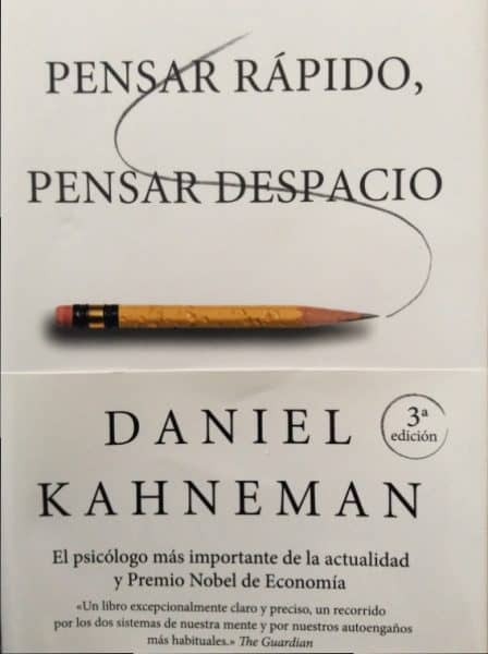 Pensar rápido, pensar despacio - Mejor libro de psicología