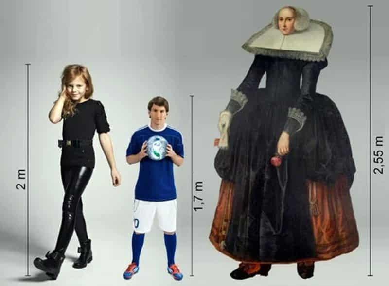 Mujeres más altas de la historia - Trijntje Keever
