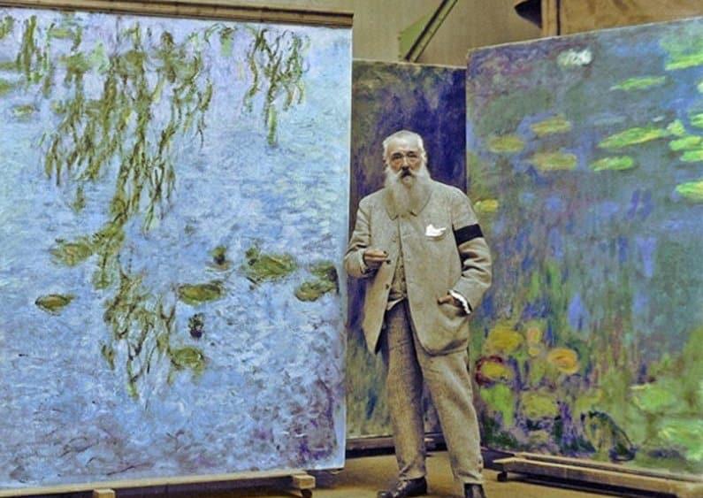 Claude Monet - pintores más famosos