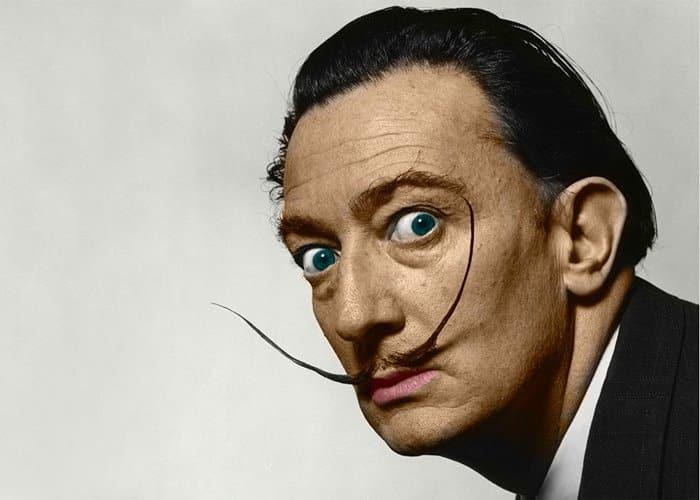 Pintores más famosos del mundo - Salvador Dalí