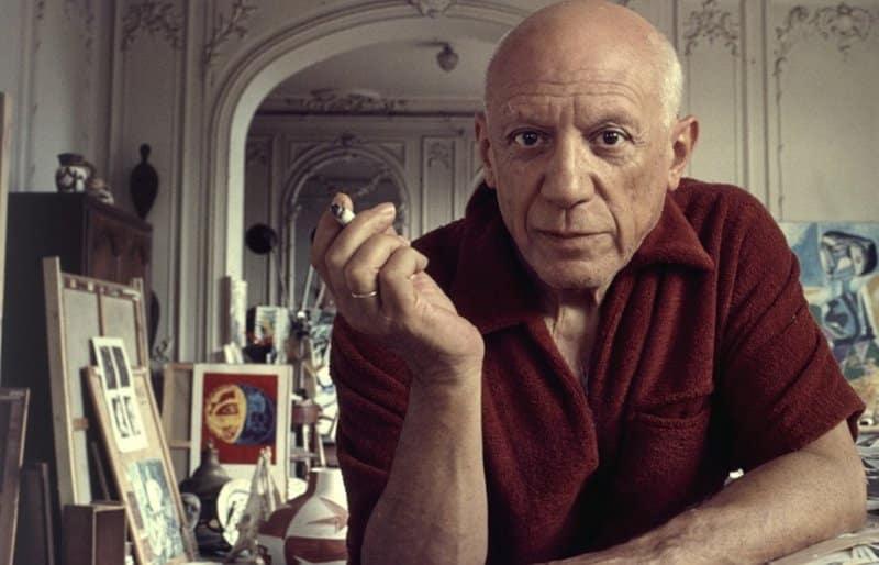 Retrato de Pablo Picasso - pintores más famosos del mundo