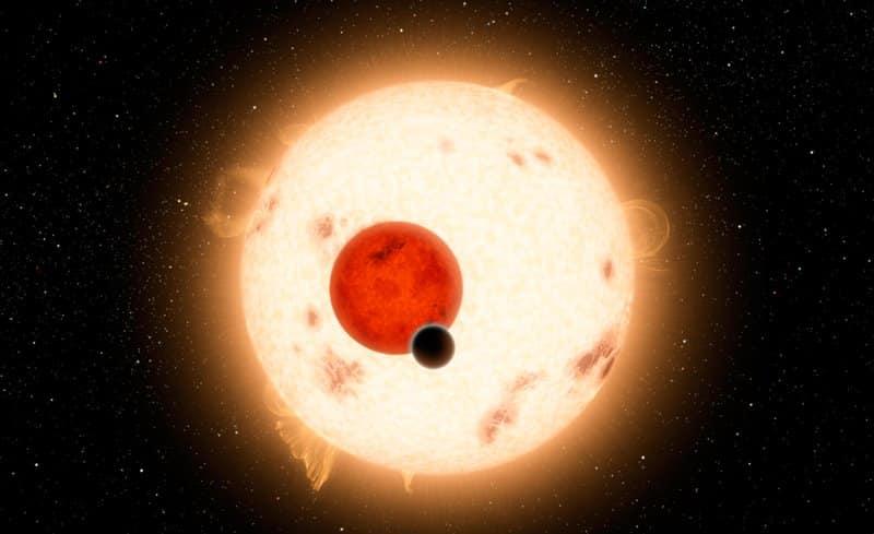 Kepler-16b planeta con dos soles