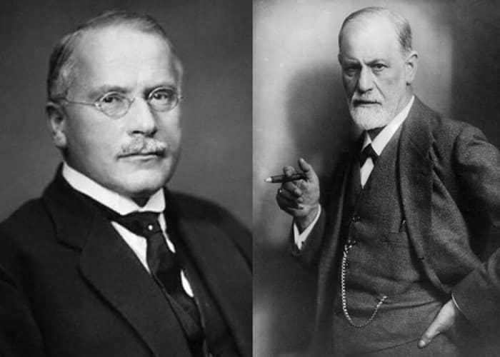 Carl Jung y Sigmund Freud - Psicólogos más famosos