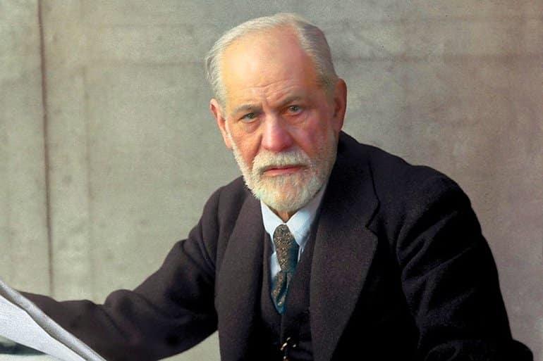 Psicólogos más famosos del mundo Sigmund Freud