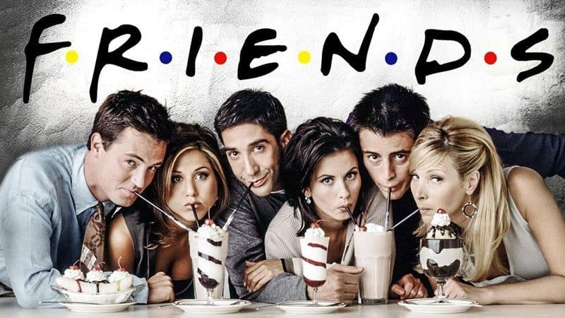 Friends - Series más vistas del mundo