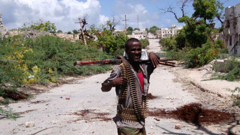 Mercado de Somalia armas de fuego