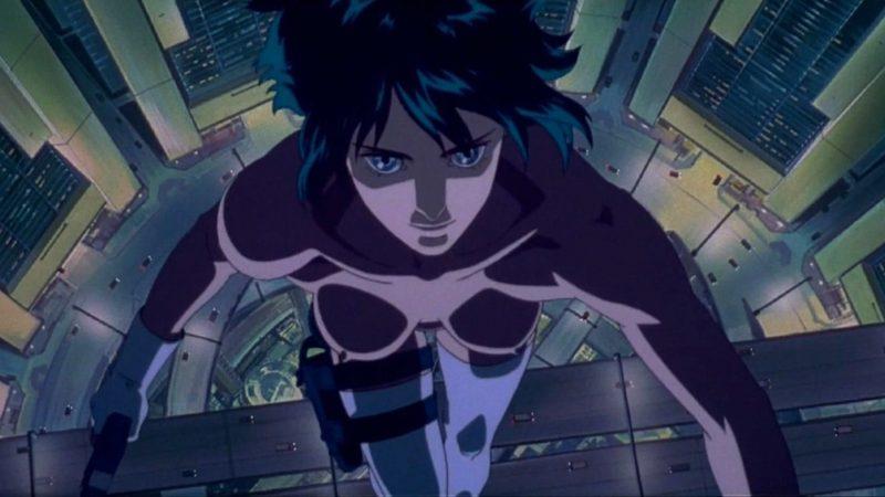 Animes más vistos del mundo Ghost in the shell