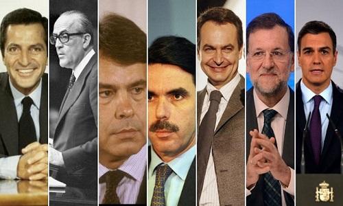 Presidentes mejor v alorados de España